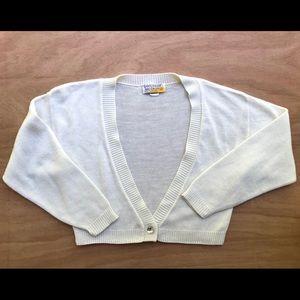 Vintage Saturday Morning cardigan Sweater USA